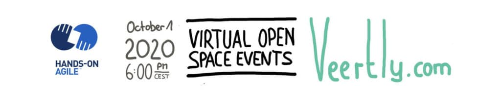 🖥 Hands-on Agile #27: Virtual Open Space Events w/ Veertly
